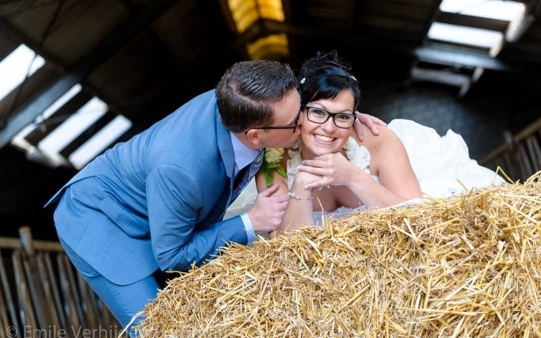 Bruidsfotograaf Limburg te Beek- trouwreportage Esther en Roel