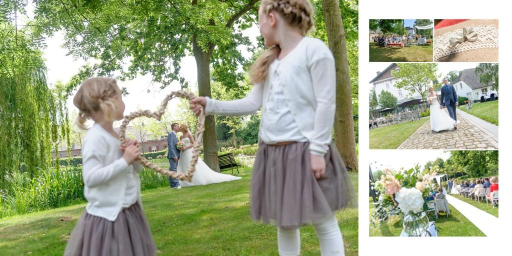 11 Een kus met de bruidskinderen bij Chateau de Raay 506LIKA
