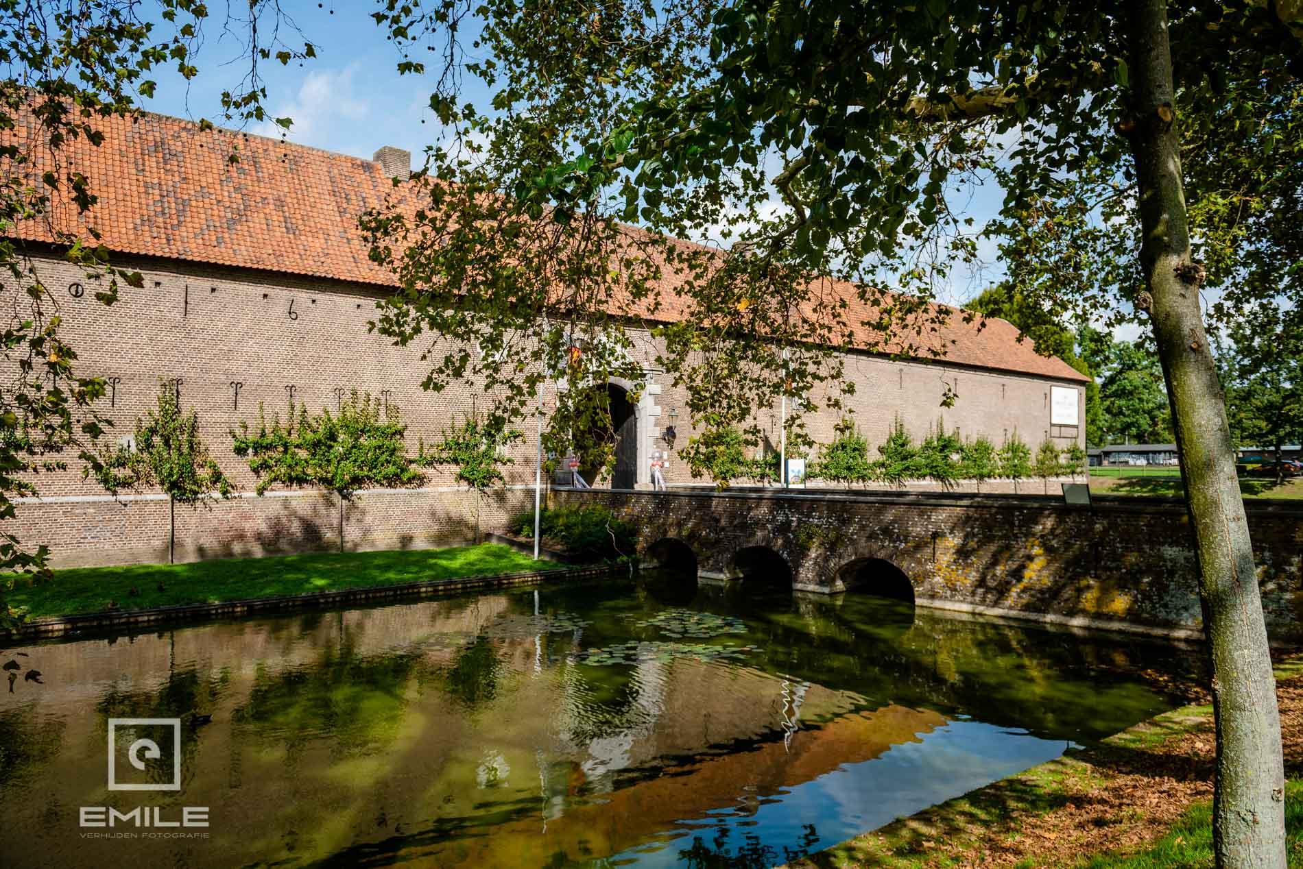 Limbricht overzicht kasteel Limbricht Zuid-Limburg