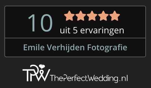 The Perfect Wedding voor Emile Verhijden Fotografie