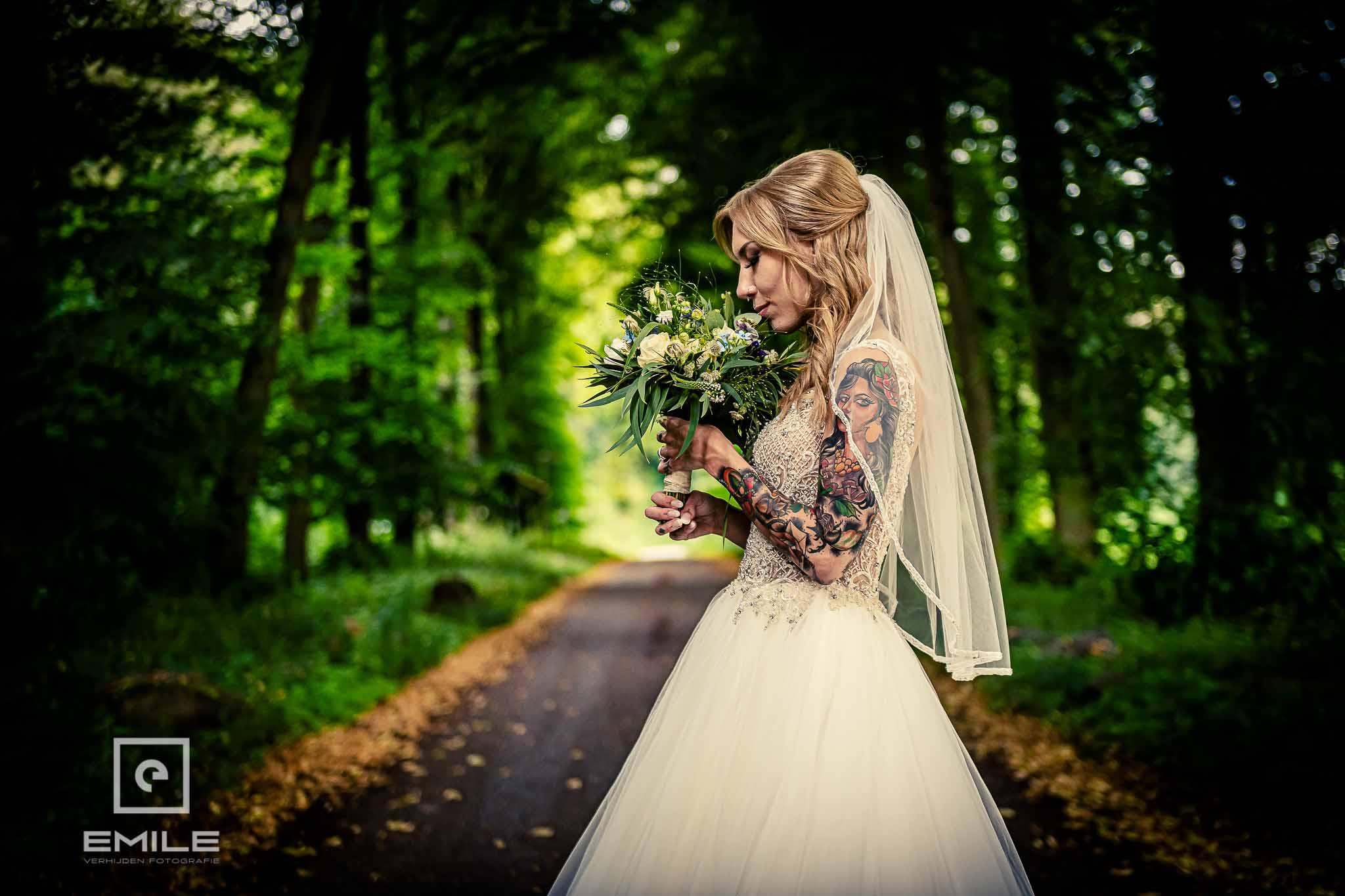 Huwelijk in de tuin van Kasteel Vaeshartelt te Maastricht