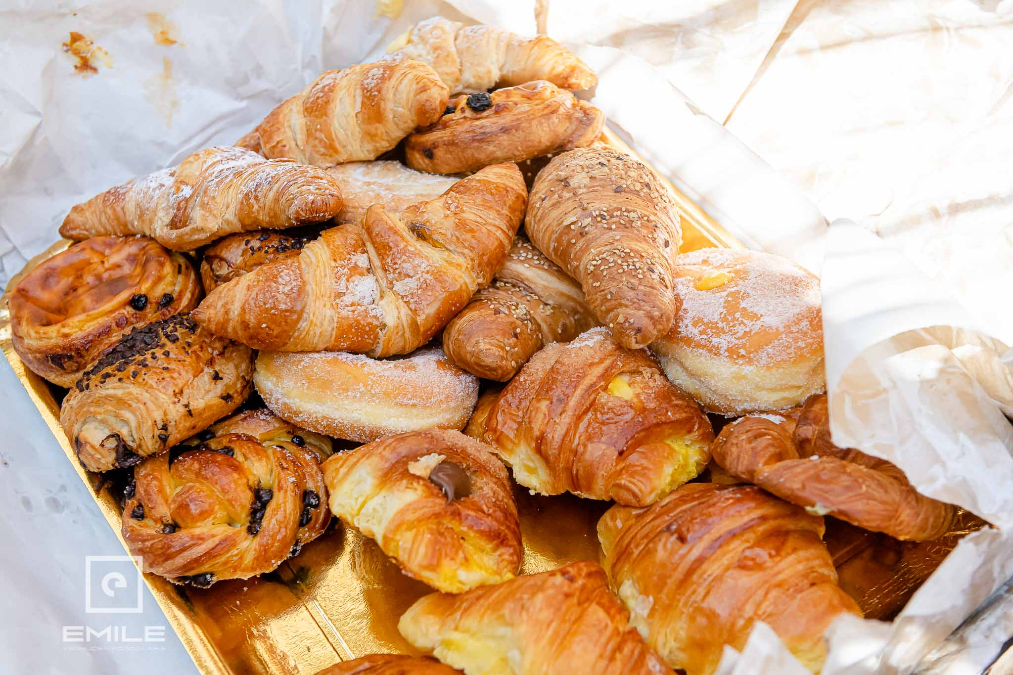 Echte Italiaanse pasta als ontbijt - Destination wedding San Gimignano - Toscane Italie - Iris en Job